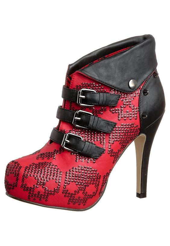 Iron Fist  NEW RIDER - Ankle Boot - red