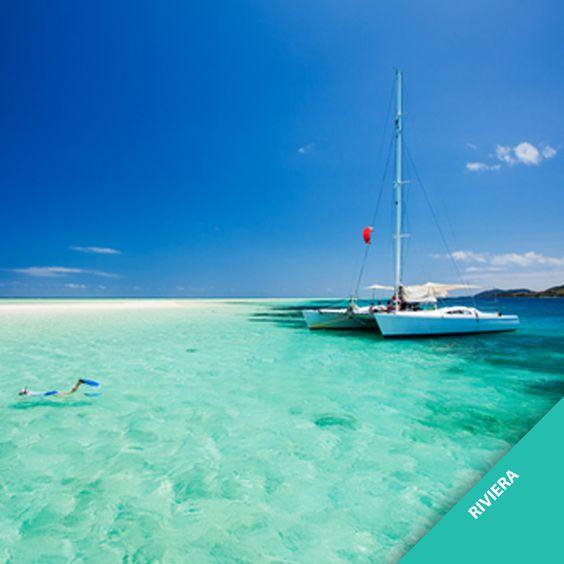 """O verde-água dos mares do litoral brasileiro inspirou a nossa cor do ano """"Riviera"""". Qual é a sensação que esse tom transmite para você?"""