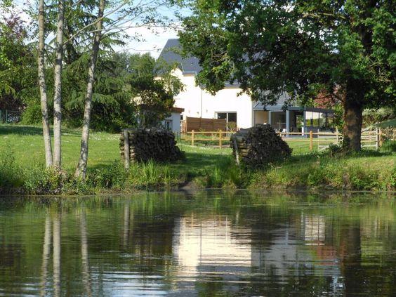 Gîte L'étang à Marcey Les Greves - Manche , Gîte 4 épis Manche