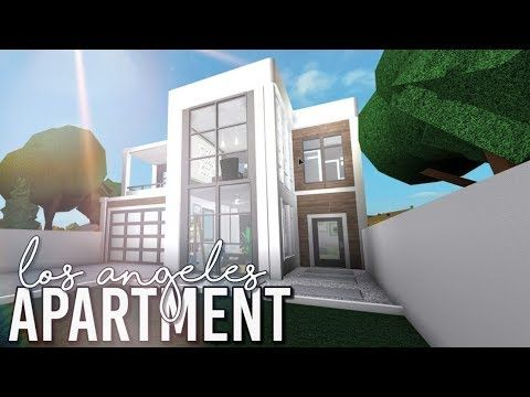 Bloxburg La Apartment 42k Youtube In 2020 House Plans With