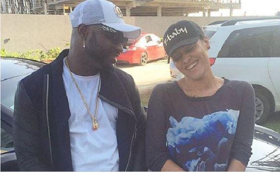 Harrysong caught flirting with Wizkid's ex Tania Omotayo (+Photo)