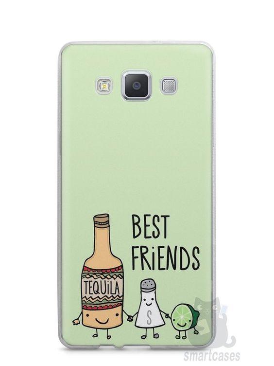 Capa Capinha Samsung A7 2015 Tequila, Sal e Limão - SmartCases - Acessórios para celulares e tablets :)
