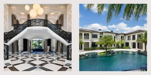 This 20 Million Home Comes With A Closet Inspired By A Chanel Boutique Miami Houses Miami Architecture Mediterranean Style Homes