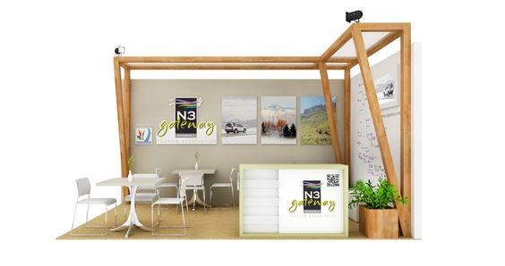 Design for N3 Gateway at Tourism Indaba by 1UP Design