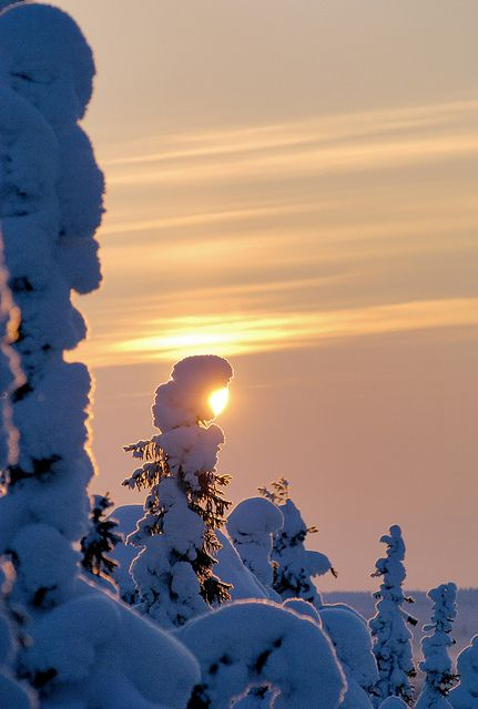 Iso-Syöte in Finnish Lapland, Finland by Visit Finland, via Flickr
