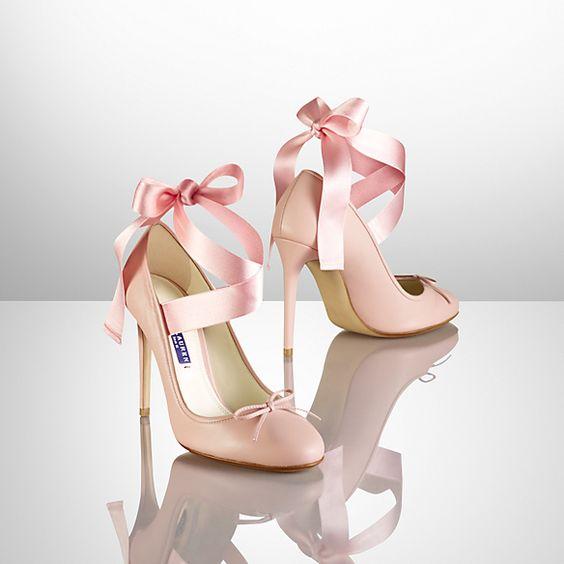 Barton Ballet Pump in pink・Black Label - WANT TAKE HAVE!!!