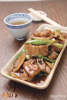Fry pork belly slices recipe