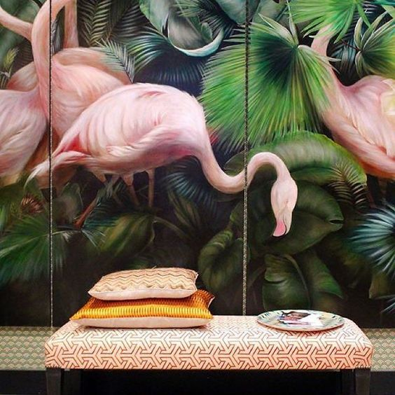 Sometimes you just discover an amazing photo you just have to share.. I love vibrant pink flamingos, even more so when they're used around the home. A challenge - tag your most inspiring Instagram account. I'll start - @buddhafulmoi, who posted this awesome photo