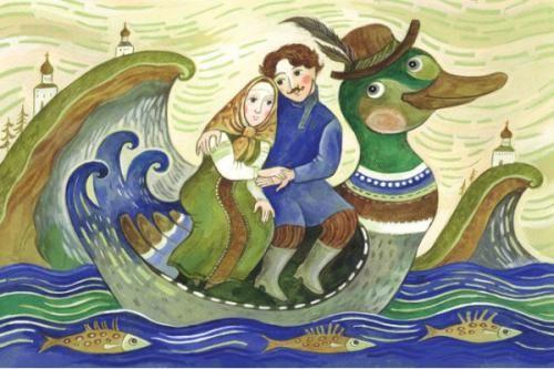 ilustraciones rusas y de europa del este.... sellos, postales Russische illustratie