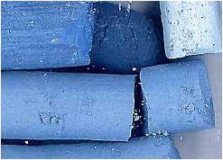 Bleu de Lectoure - Pastels: