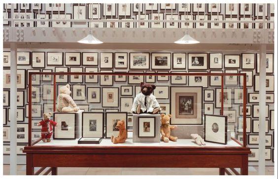 Выставка ретро-фотографий с мишками в Кванджу — lovelypuppets.ru: