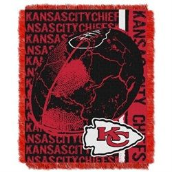 Kansas City Chiefs Bed Throw Blanket Bedding 48 x 60