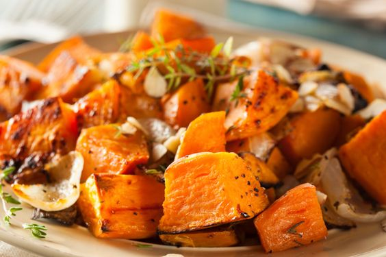 3.  Holiday Sweet Potatoes | Fiit & Fab Living | This is always a family favorite recipe.  Make this tasty holiday recipe during Thanksgiving or during Christmas to create the perfect atmosphere. | Holiday Sweet Potatoes + 9 More Healthy Thanksgiving Sides