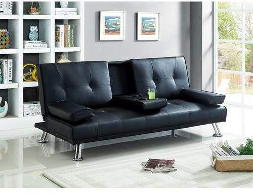 Wrought Studio Guiterrez Center Console Sleeper Sofa Offer