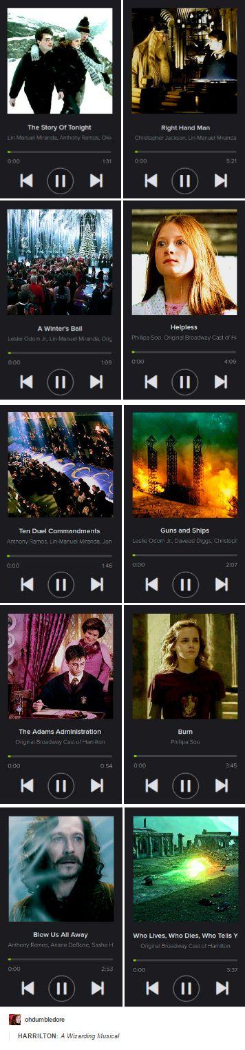 Hamilton and Harry Potter
