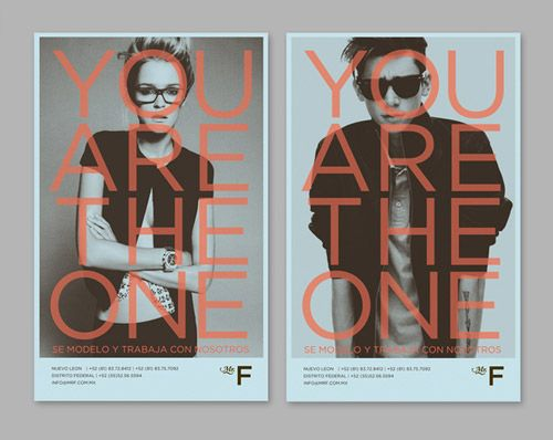 You are the One posters.