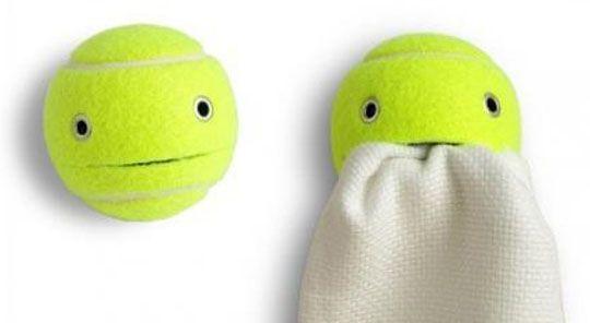 Tennis Ball Redo: A DIY Stuff Holder