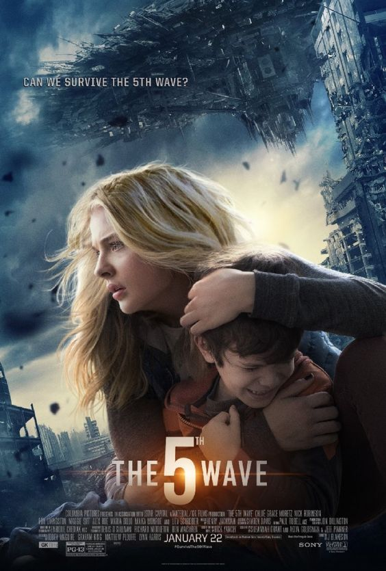 The 5th Wave (2016) — Forget the movie, but read the book.  The latter is actually good.