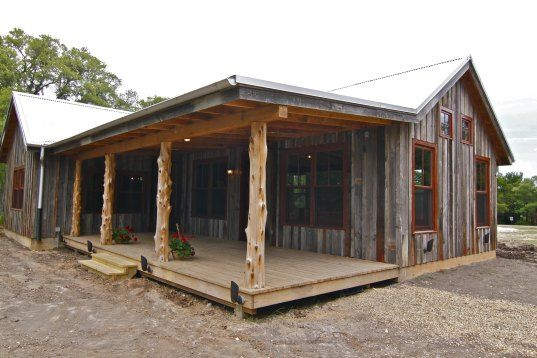 Zero Energy Casita In Texas Opens To The Public Today - small rustic house plans ranch