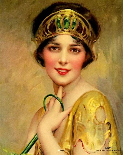 Beauty of the Day,  Charles Bosseron Chambers: