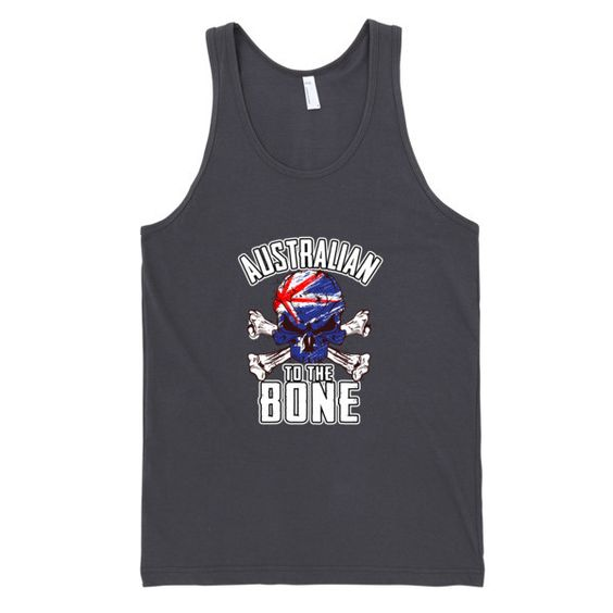 Australian To The Bone Mens Tank
