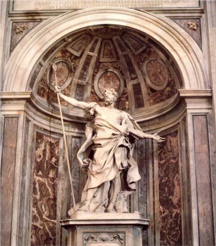 St. Longinus - Gian Lorenzo Bernini