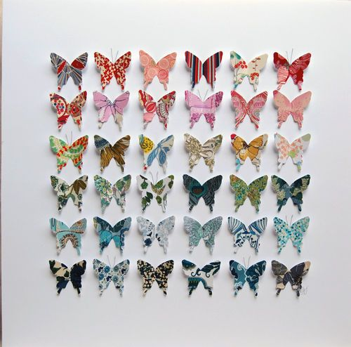 how to make a butterfly out of fabric