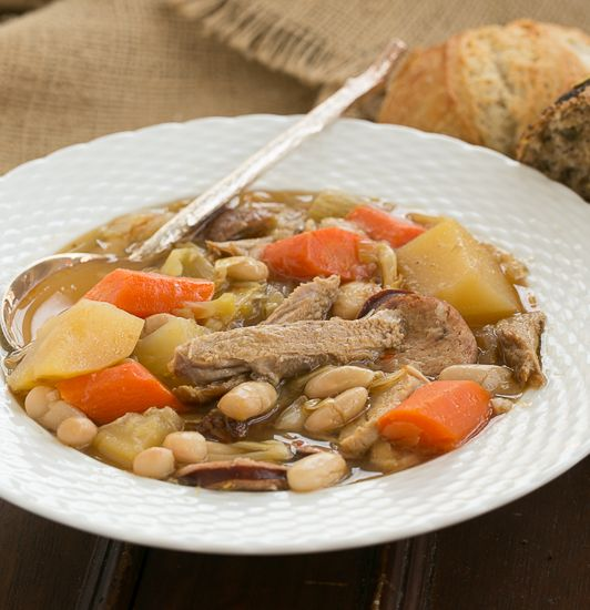 Garbure...an outstanding French peasant stew