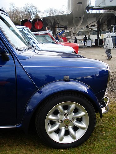 Classic Rover Mini 50th Anniversary Brooklands Museum Weybridge March 2009 - S1WKS | by fotosforfun2
