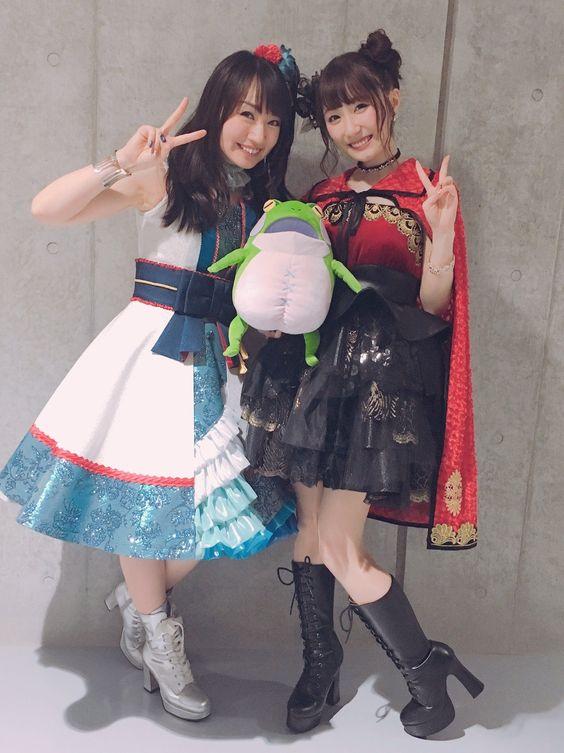 水樹奈々さんと日高里菜さん