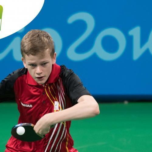 Paralympic Games - Team Belgium | Rio 2016 - Laurens Devos - Tennis de table