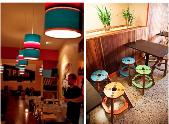 La Boca Loca Plywood stools