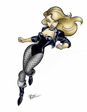 Black Canary she's just badass