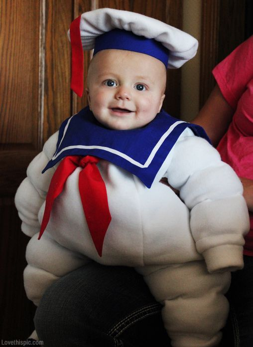 Stay Puft baby costume babies party halloween kids costumes kids costume ideas diy costume | http://cute-kid-jacynthe.blogspot.com