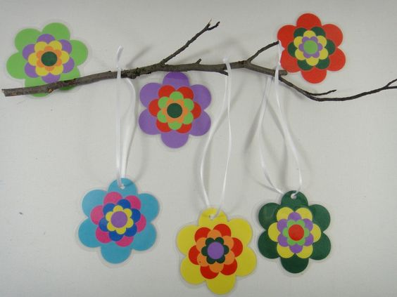 DIY Blütenanhänger