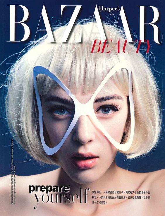 Anna Kazannik for Harper's Bazaar Beauty Hong Kong