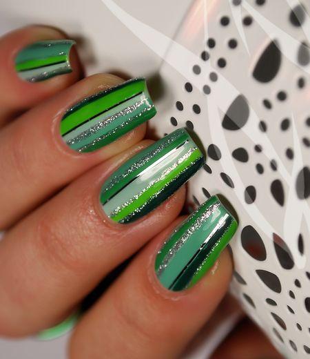 Green Sweet  #nails #nailart #Greenpolish