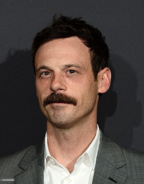 Actor Scoot McNairy arrives at a screening of David O. Russell's 'Past Forward' hosted by Prada at Hauser Wirth & Schimmel on November 15, 2016 in Los Angeles, California. 20h (photo by Amanda Edwards) - Edited