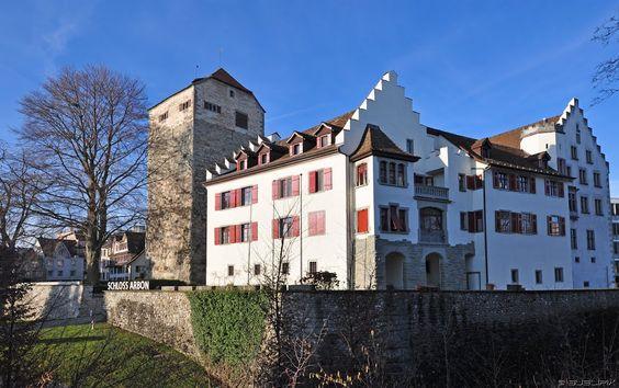 Schloss #Arbon im #Thurgau, wenn die Sonne scheinen würde...