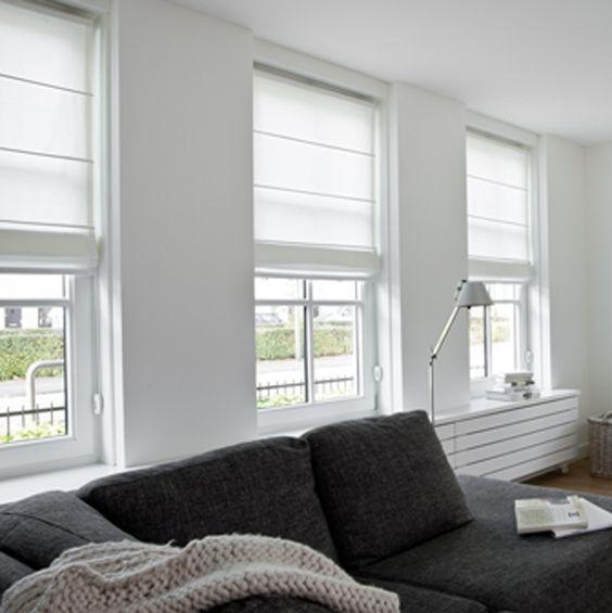 Meer dan 1000 idee n over witte slaapkamer gordijnen op pinterest kleine witte slaapkamers - Sofa kleine ruimte ...