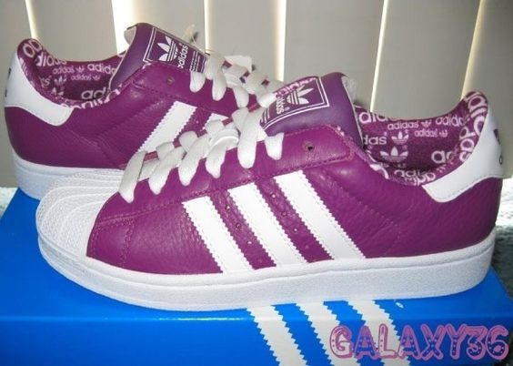 Adidas Superstar Violette