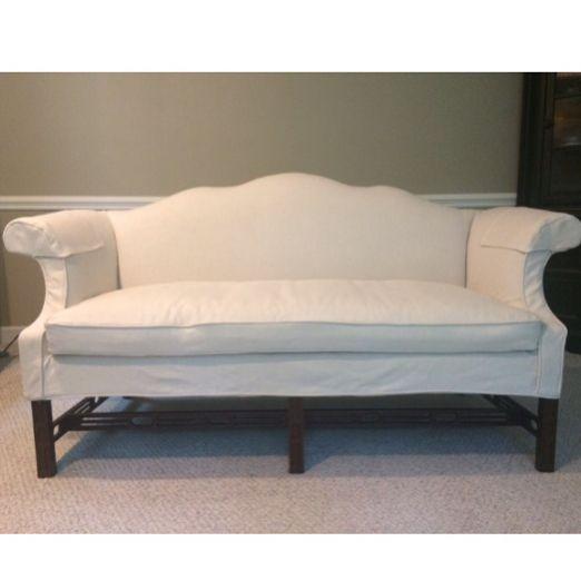 Camelback Sofa Slipcover Install Today
