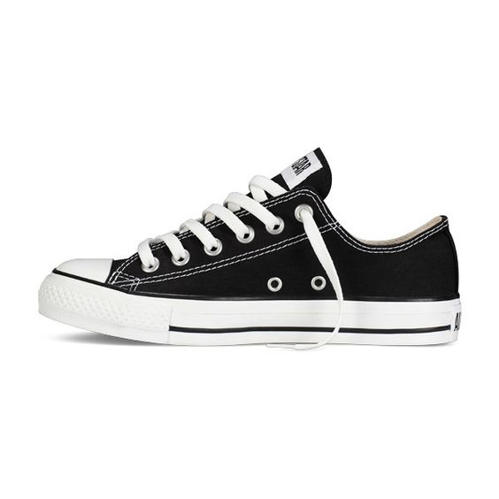 Black Chuck Taylor All Star Shoes : Converse Shoes | Converse.com ($50) ❤ liked on Polyvore