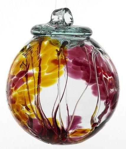 Kitras art glass spirit ball ornaments home stuff