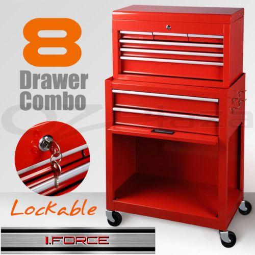 Giantz 14 Drawers Tool Box Chest Cabinet Mechanic Trolley Garage Toolbox  Storage | Mechanic Tool Box, Tool Box And Mechanic Tools