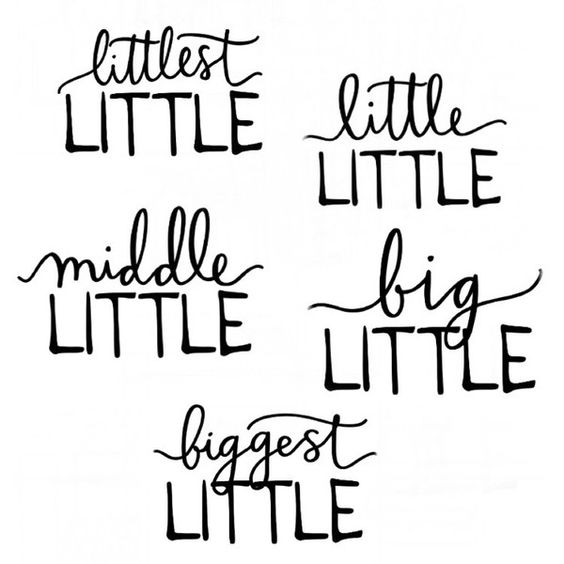 LITTLE Sibling Tees - Little Faces Apparel - 5