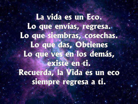 La vida es ...