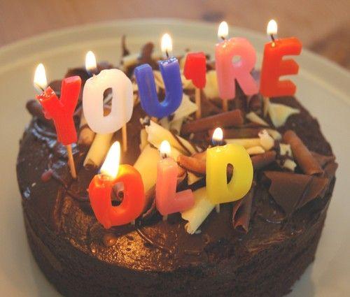 Birthday Cakes Birthdays And Candles On Pinterest