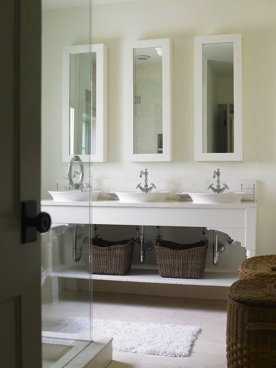 Luxury Gray Bathroom Vanity With Gold Pulls Transitional Bathroom Oliver
