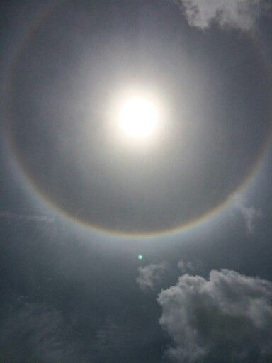 An amazing pic of the sun on Marco Island Florida